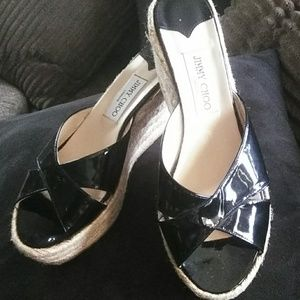 Jimmy Choo wedges new without tags